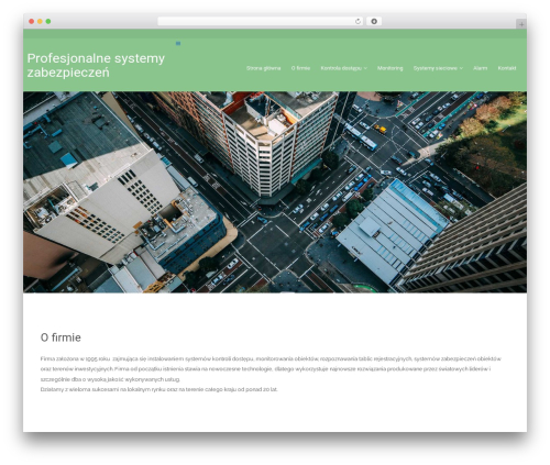 Sleeky theme WordPress free - kontrola-dostepu.net