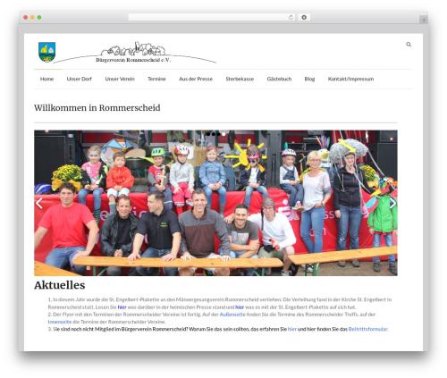 Speedy free website theme - rommerscheid.de