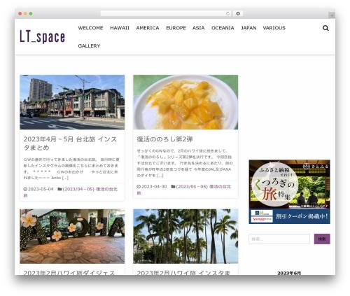 Tokimeki WordPress template free - ltspace.net