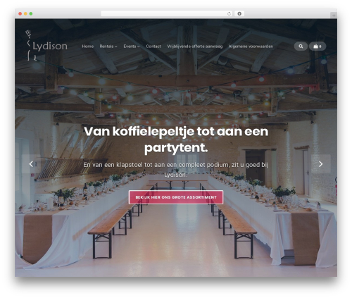 WP template Businessx - lydison.nl
