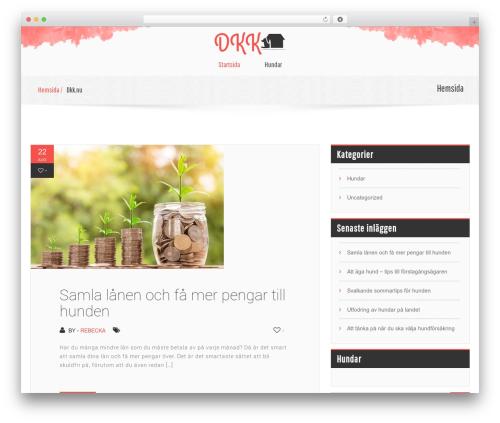 childcare WordPress theme - dkk.nu