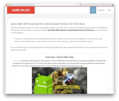 Education Pro Theme WordPress gaming theme - gamekiller.download