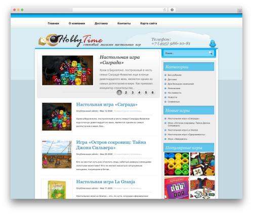 Nublu WordPress theme - stokigr.ru