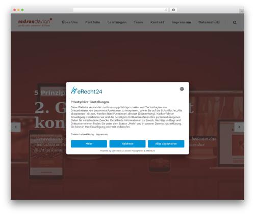 Pitch WordPress theme - redsundesign.de