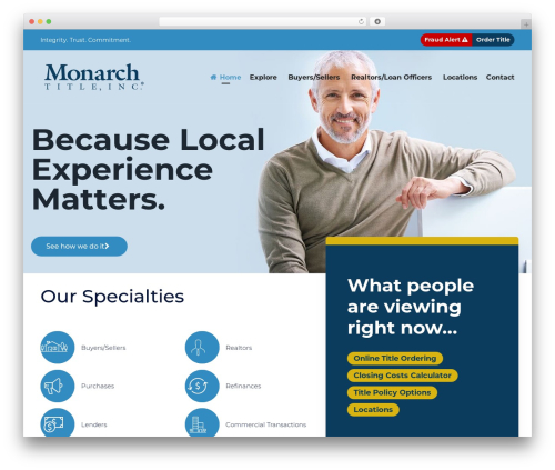 (VamTam) Consulting WP template - monarchtitle.net