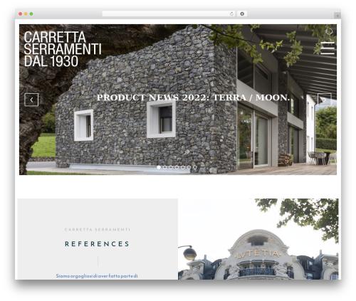 WordPress theme Architekt - carrettaserramenti.it