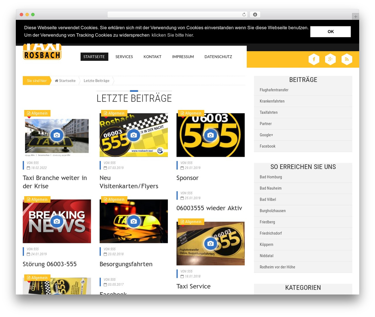 WordPress theme Epira Lite - rosbach.taxi