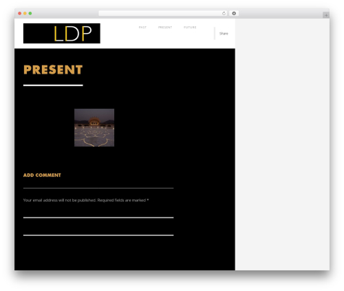 WP template Domik - ldp.bz
