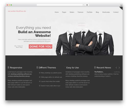 Aaika best WordPress theme - cjpower.net