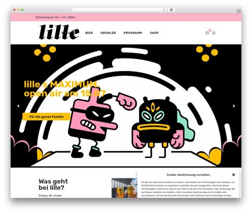 Betheme WordPress theme - lillebraeu.de