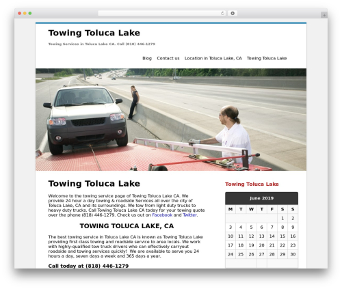 Clean Word WordPress page template - towingtolucalake.info