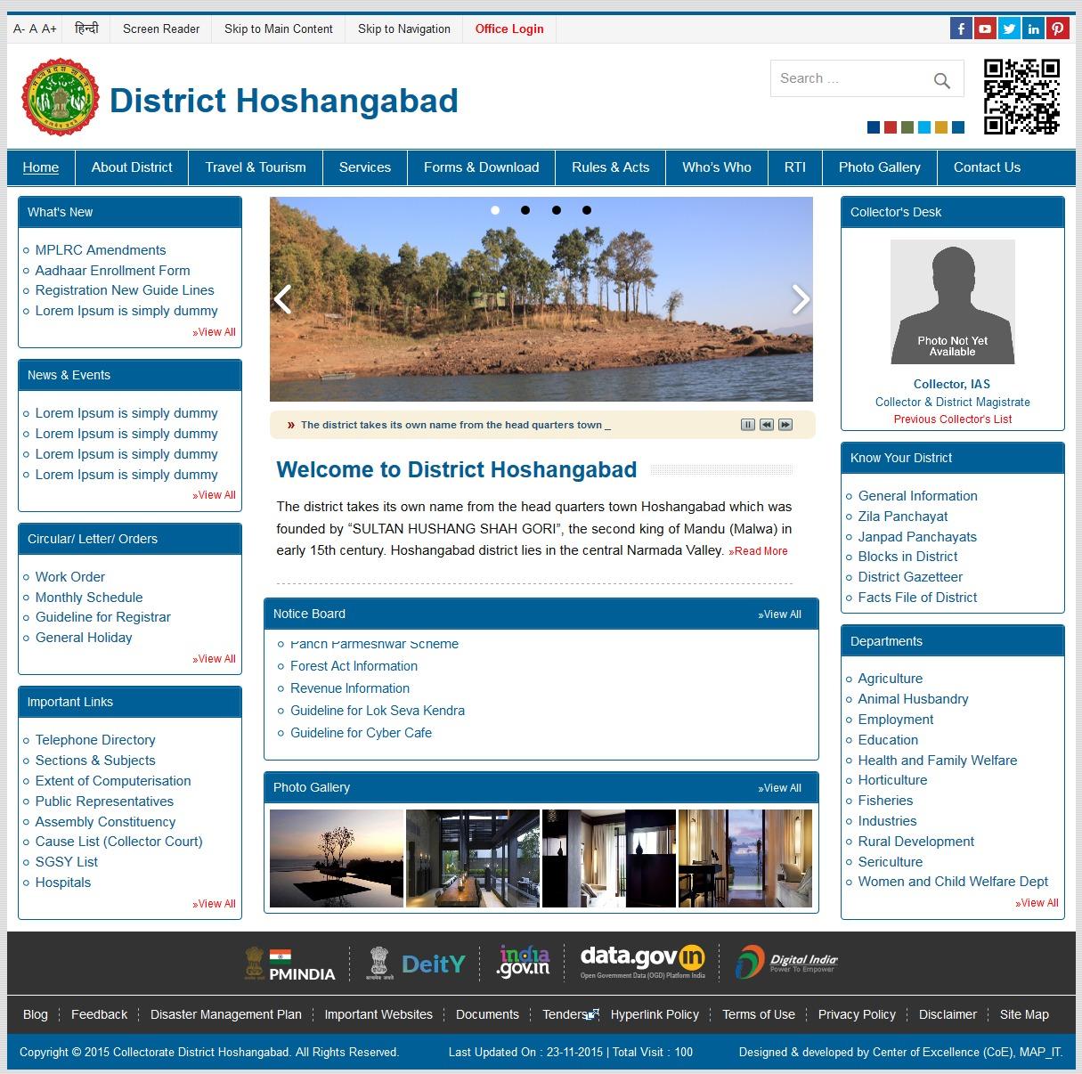District Theme WordPress theme
