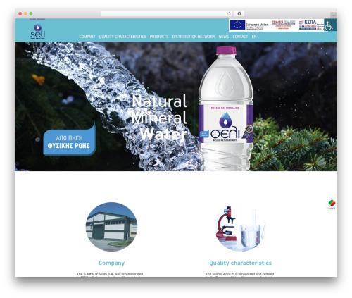 DWHITE WordPress website template - seli.gr