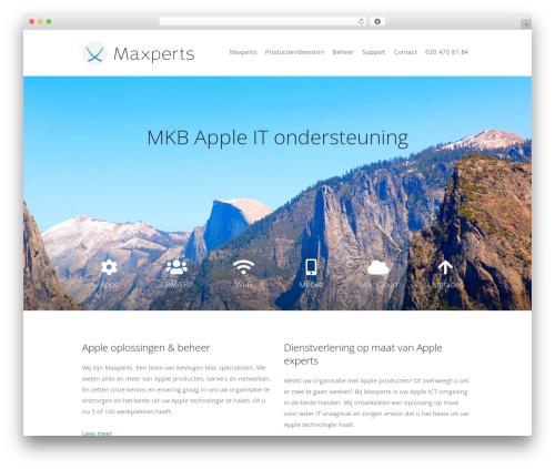 Ester WordPress theme - maxperts.nl