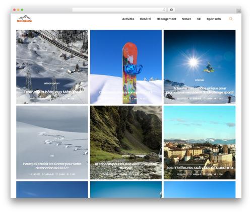 PassionBlogger WordPress blog theme - tele-evolene.ch