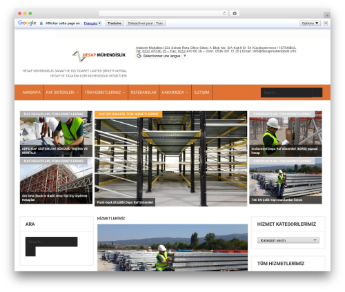 SKT Magazine Pro WordPress news template - hesapmuhendislik.info