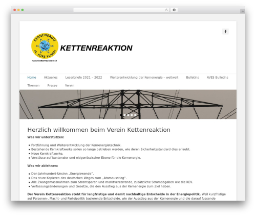 WordPress template Catch Base Pro - kettenreaktion.ch