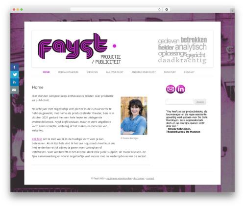 WordPress website template childtwentytwelve - fayst.nl