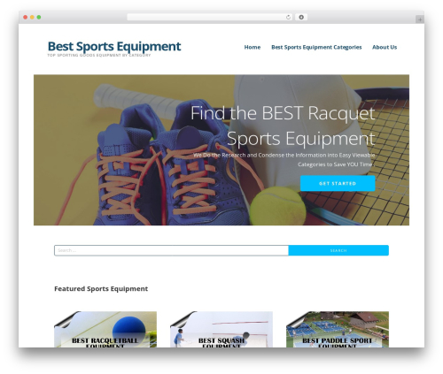 Ascension WordPress page template - bestsportsequipment.info