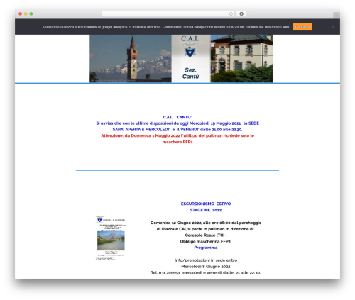 Flex-Lite free website theme - caicantu.it