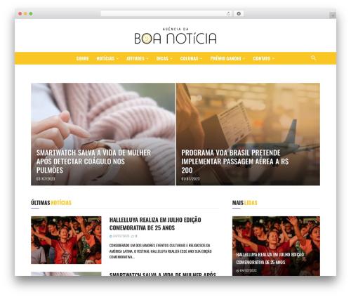 WordPress theme Newspaper - boanoticia.org.br
