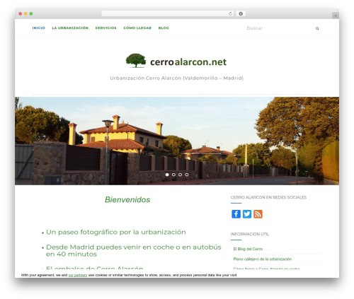 Activello best free WordPress theme - cerroalarcon.net