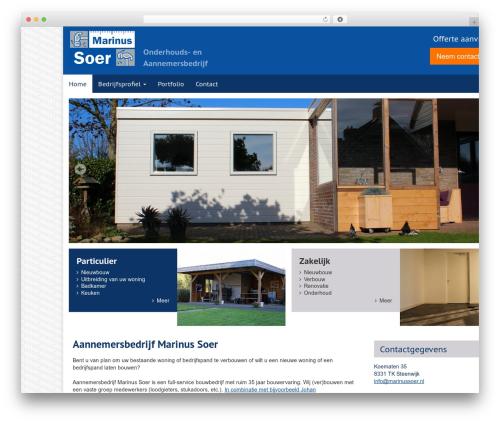 Aquila WordPress template - marinussoer.nl