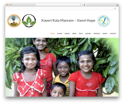 Charity Child Theme theme WordPress - kaverikalamandram-vannihope.org