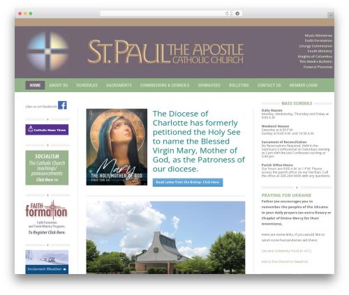Headline News newspaper WordPress theme - stpaulcc.org