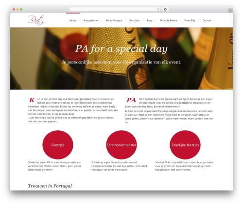 Lounge WordPress theme - paforaspecialday.nl