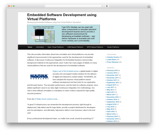 models top WordPress theme - embedded-software.info