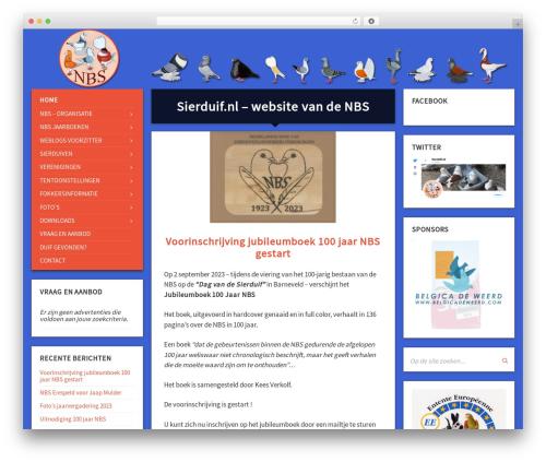 TownPress best WordPress theme - sierduif.nl