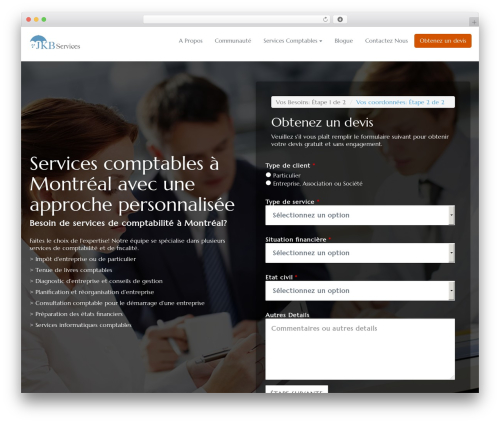 WordPress theme Getleads - jkbservices.ca