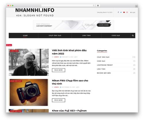 WordPress website template JNews - nhamnhi.info