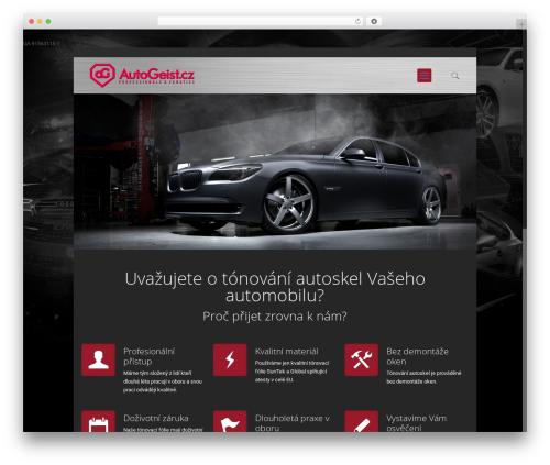 Betheme WordPress theme - autogeist.cz