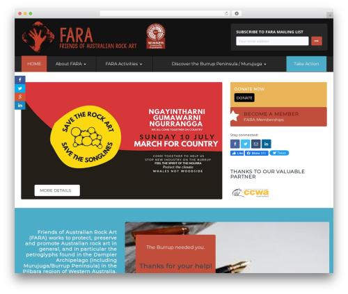 Candidate WordPress template - fara.com.au