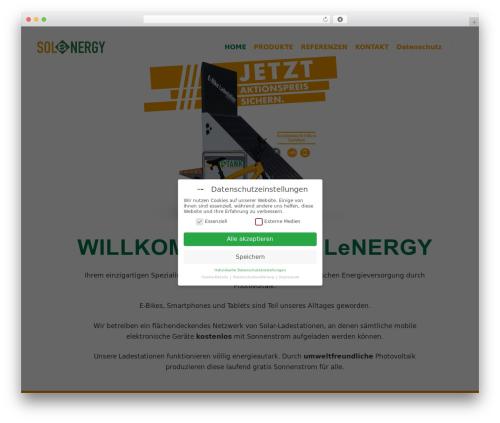 FatMoon best WordPress template - sol-energy.at