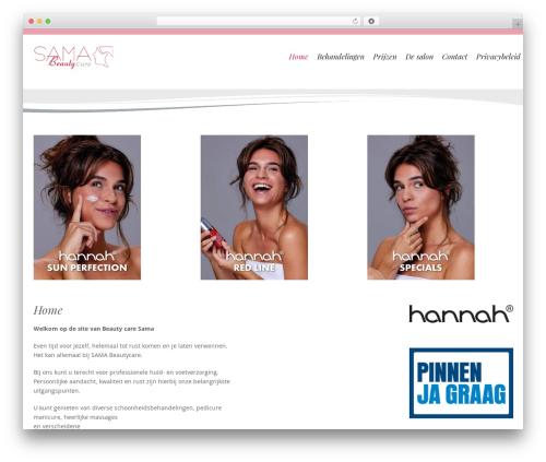 Longevity template WordPress free - beautycaresama.nl