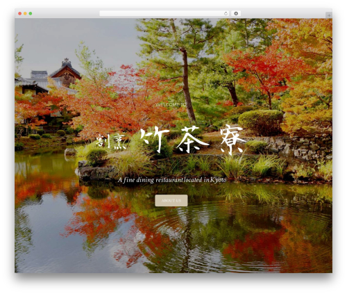 Oshin (shared on wplocker.com) WordPress theme - takesaryou.kyoto