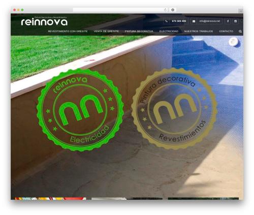 Theme WordPress Construction - reinnova.net