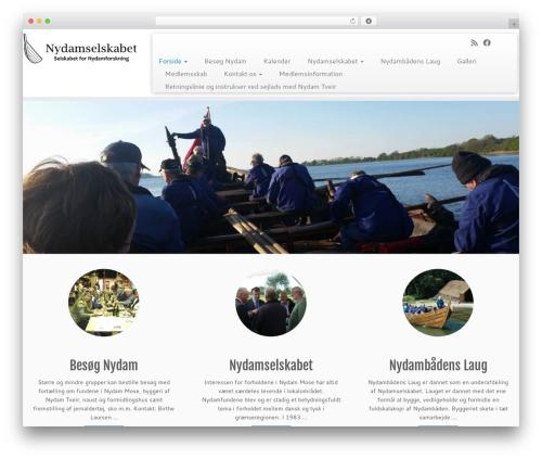 Theme WordPress Customizr - nydam.nu