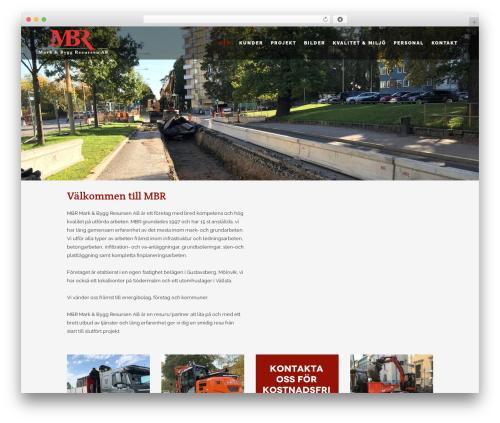 WordPress template Stockholm - mbr.nu
