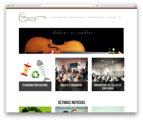 WordPress website template Reco - elcellodetorrelavega.es