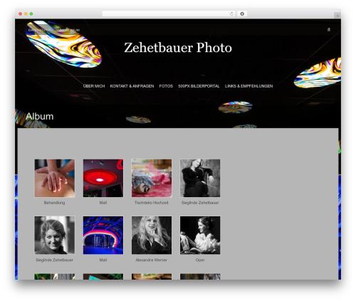 Fifteen Plus WordPress page template - bzehetbauer.de