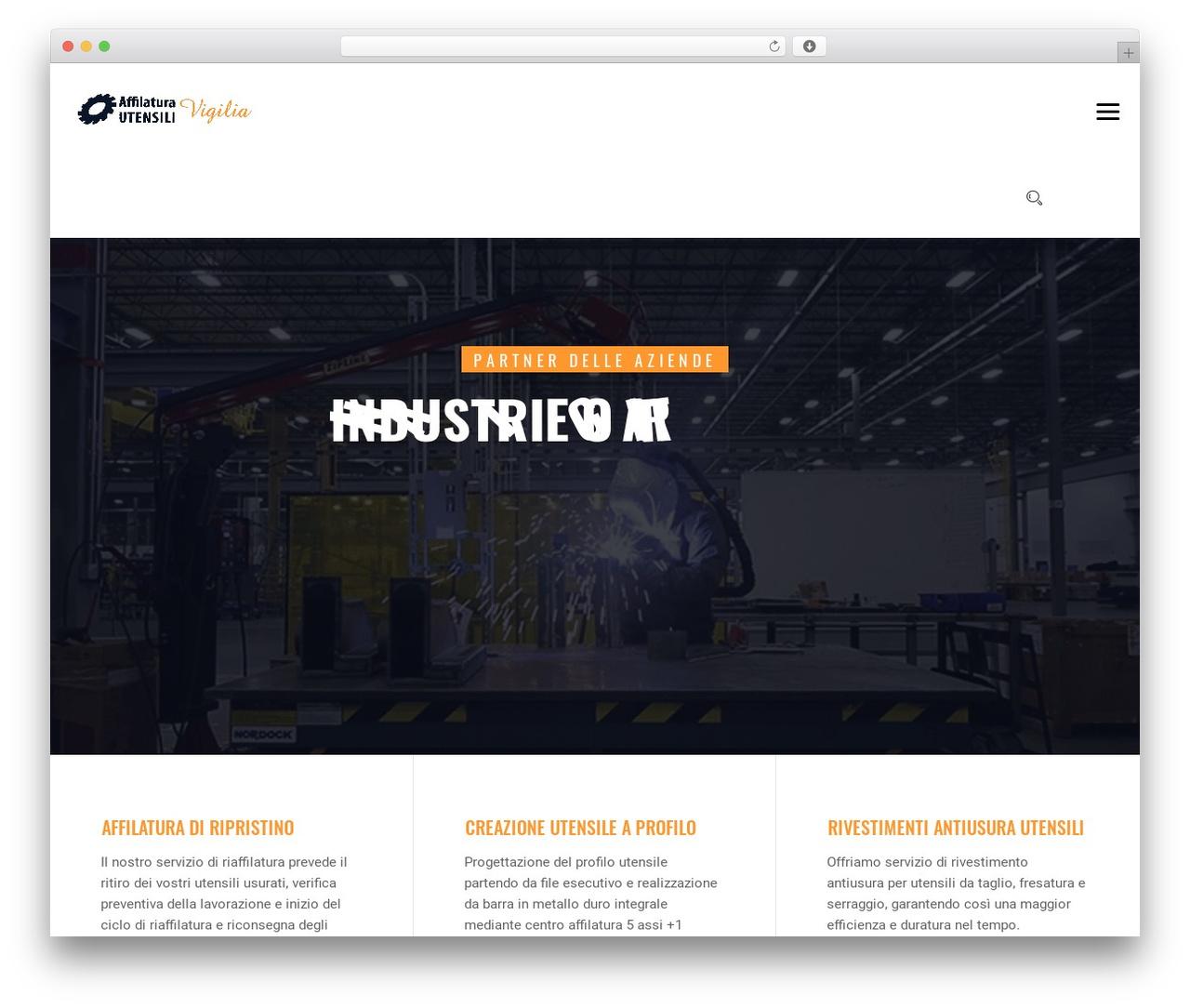 Theme WordPress IndustCO - affilaturautensilivigilia.it