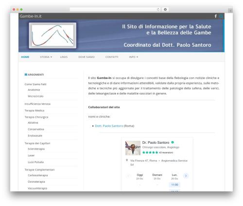 Theme WordPress ZeroGravity - gambe-in.it