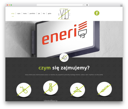 BootstrapWP WordPress theme - michalrydz.pl