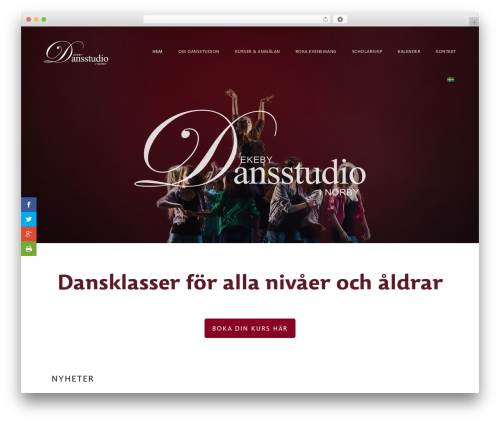 Genesis theme WordPress - dansstudio.nu