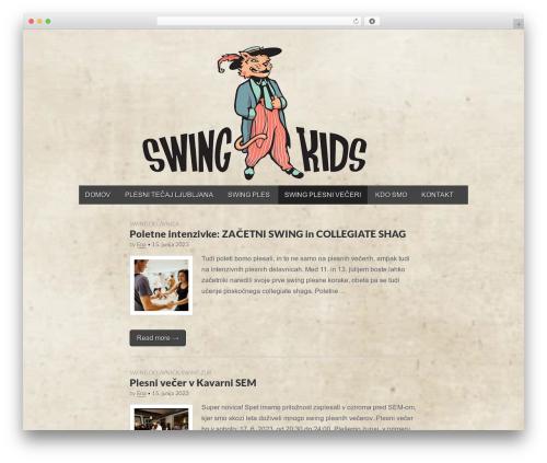Gridiculous WordPress theme free download - swingkids.si