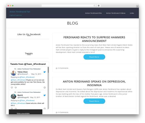 Romana best free WordPress theme - antonferdinandfan.info